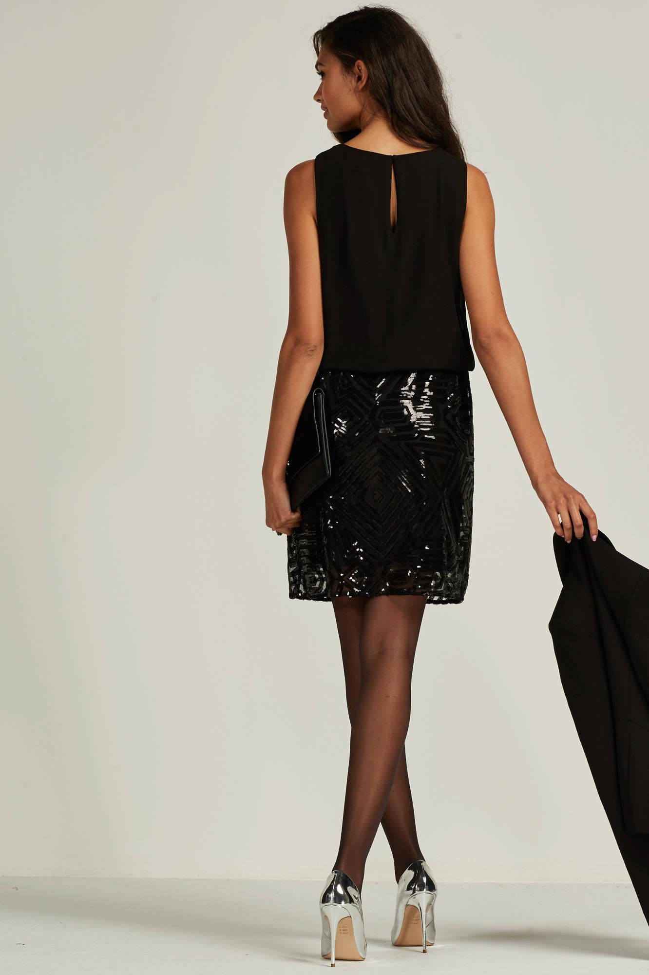pailletten jurk wehkamp