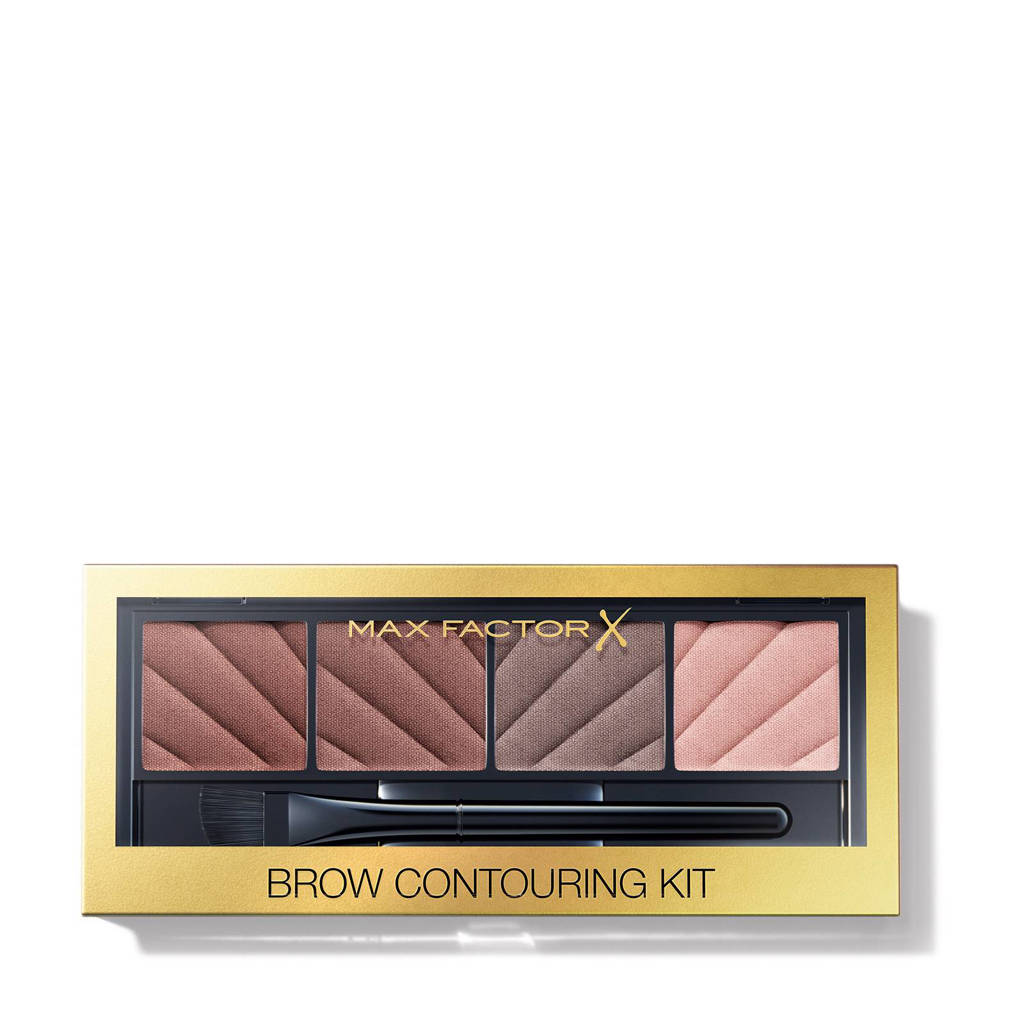 Max Factor Brow Contouring Kit - brown, Brown