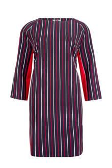 jurk met strepen