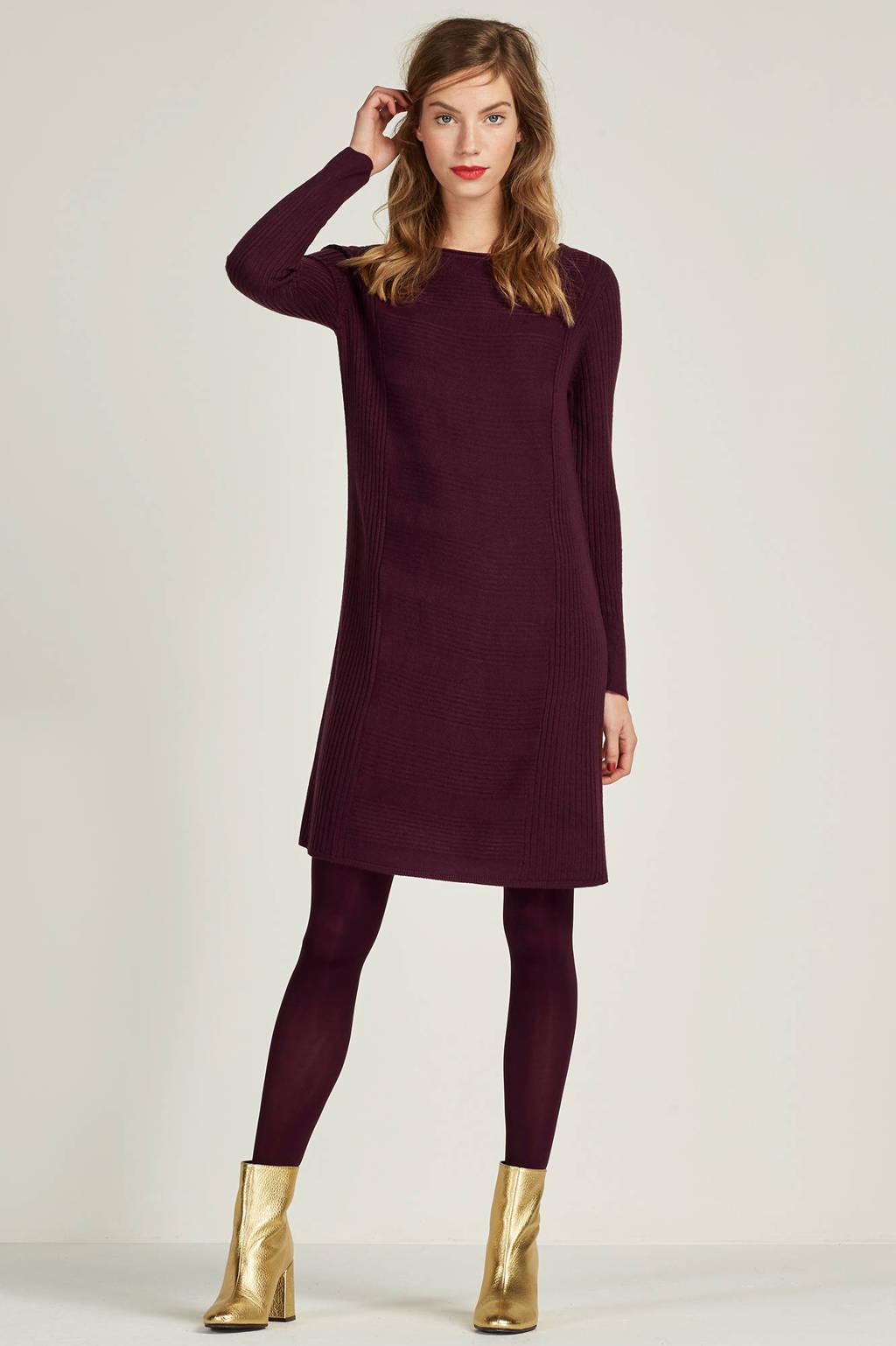 JACQUELINE DE YONG jurk, Paars