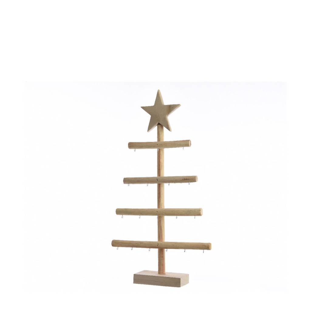 Decoris Decoratie kerstboom, Lichtbruin
