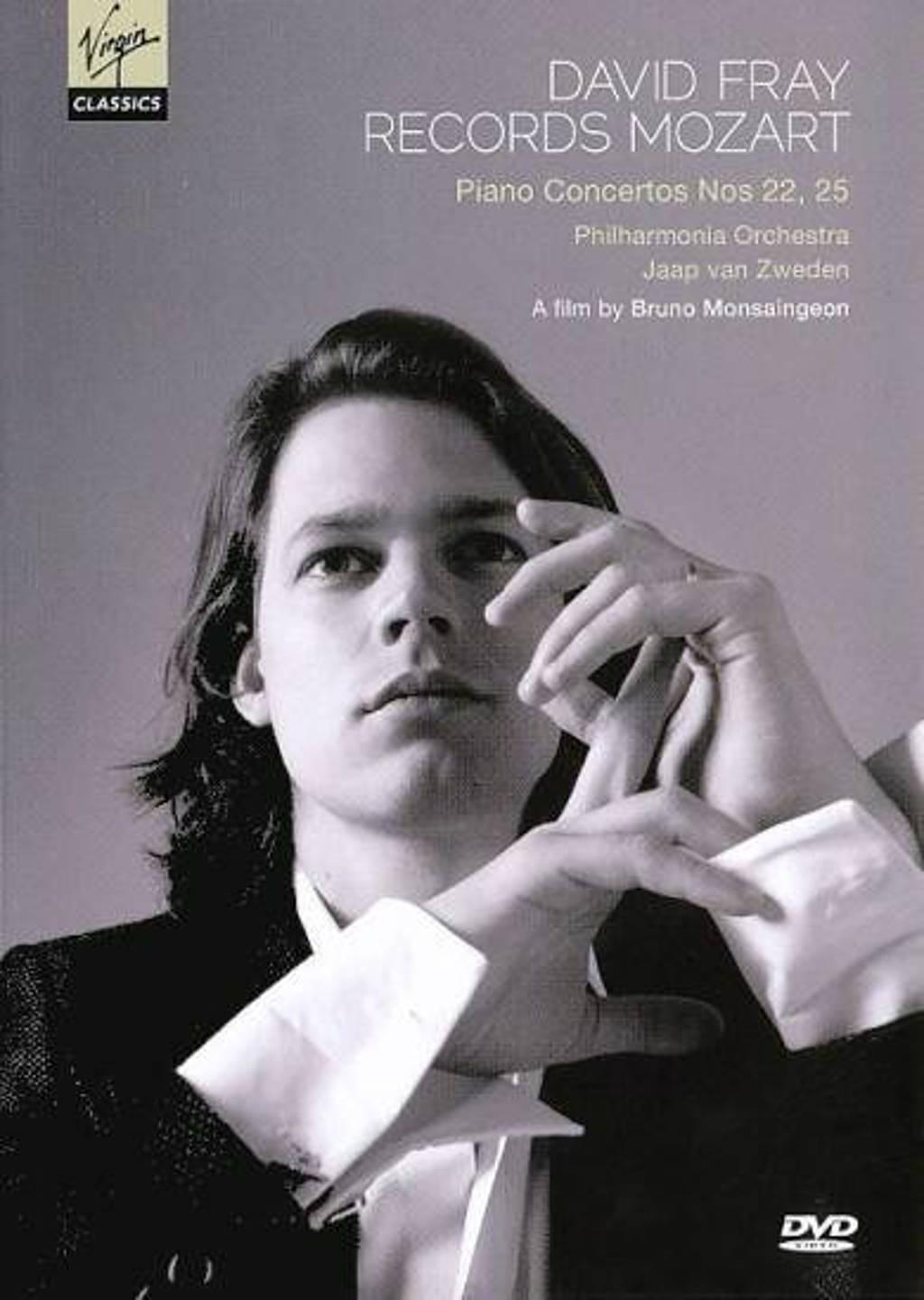 David Fray/Philharmonia Orchestra - Mozart Concertos No 22, 25 (DVD)