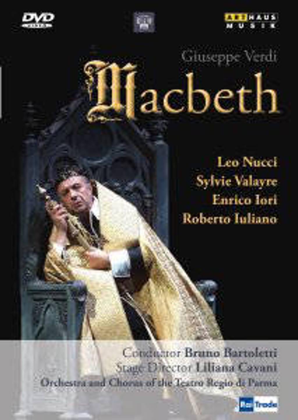 Sylvie Valayre Leo Nucci - Macbeth, Parma (DVD)