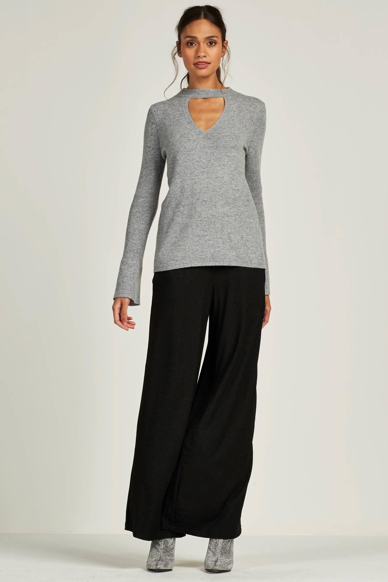 ESPRIT Women Casual trui met choker | wehkamp