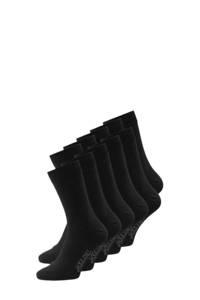 JACK & JONES sokken set van 10 paar zwart, Zwart