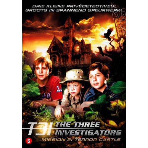 Three investigators mission 2 - Terror castle (DVD) kopen
