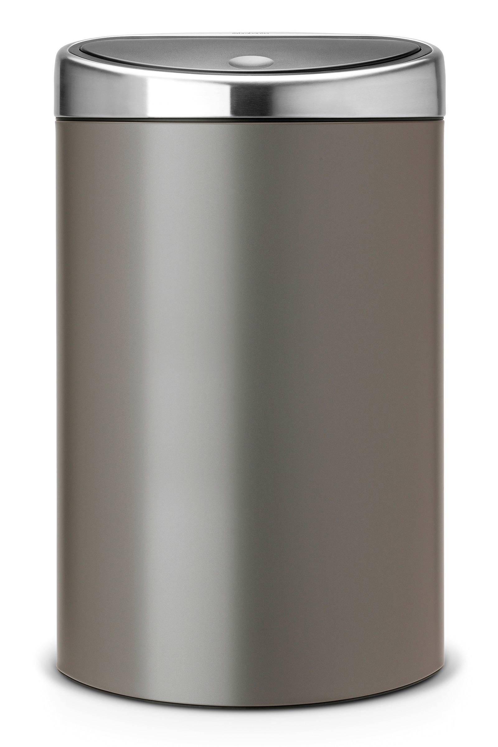 Brabantia Vuilnisbak 40 Liter.Touch Bin 40 Liter Prullenbak