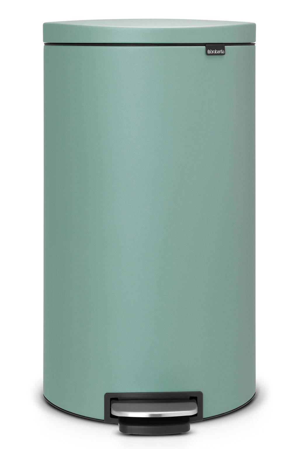 Brabantia Flatback+ 30 liter pedaalemmer, Mint