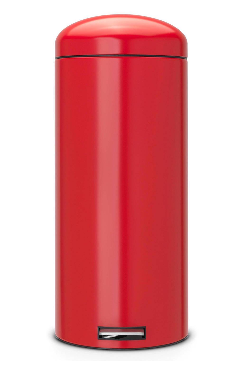 Brabantia Pedaalemmer Retro Bin.Brabantia Retro Bin 30 Liter Pedaalemmer Wehkamp
