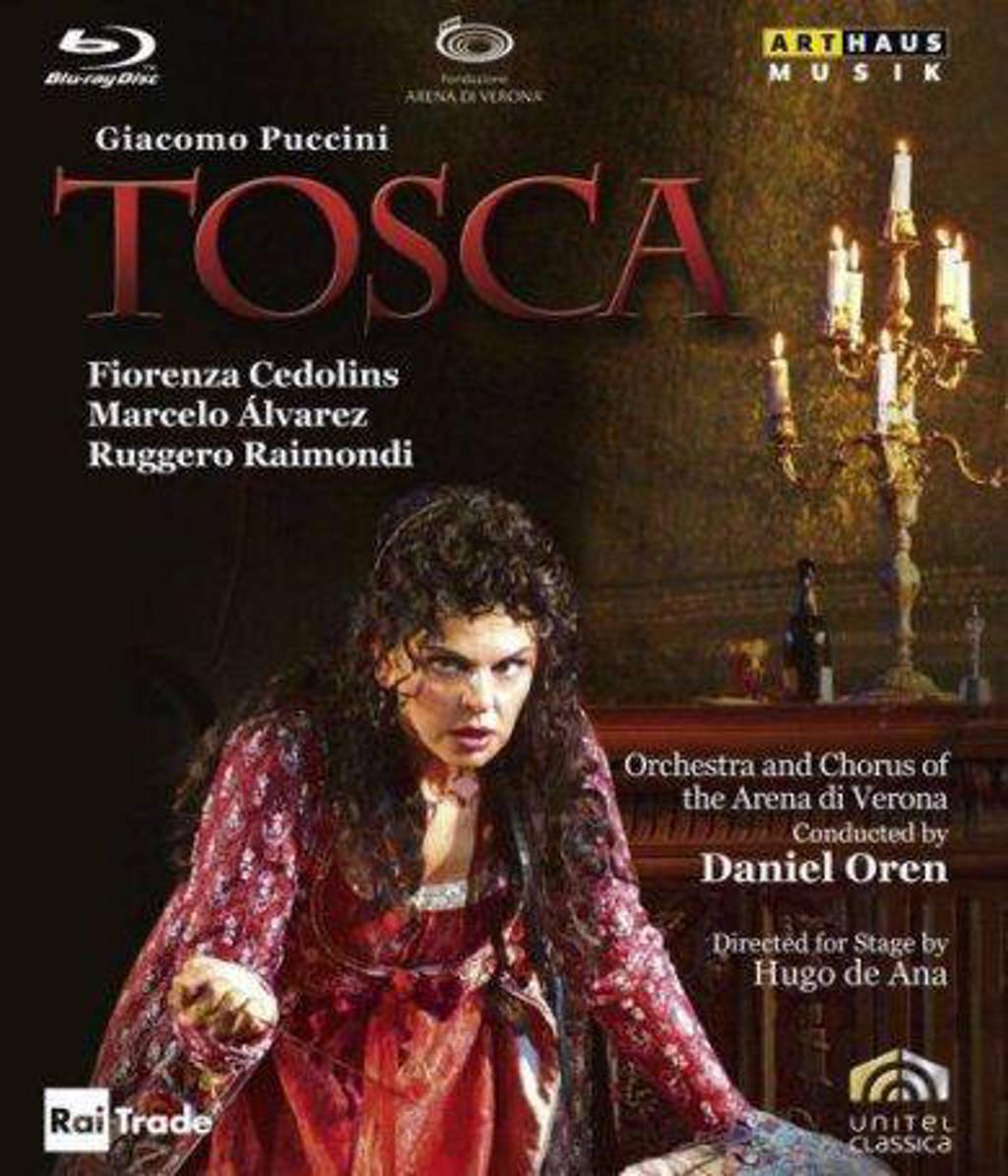Marcelo Alvarez Fiorenza Cedolins - Tosca, Verona Blu-Ray Versie (Blu-ray)