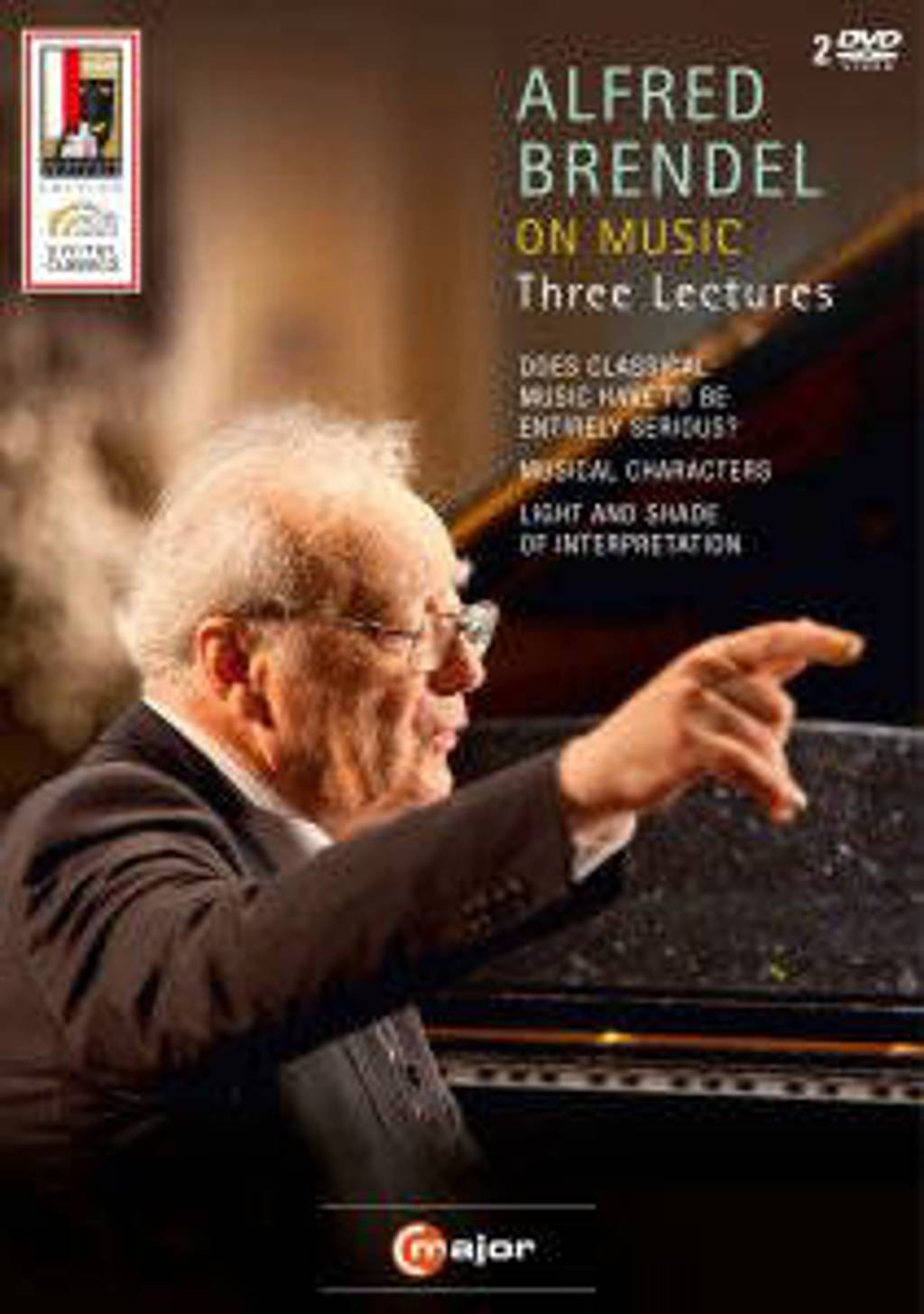 Alfred Brendel - Brendel On Music, Three Lectures (DVD)