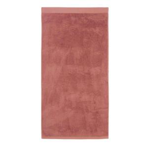 badlaken hotelkwaliteit (70 x 140 cm) Bleekrood