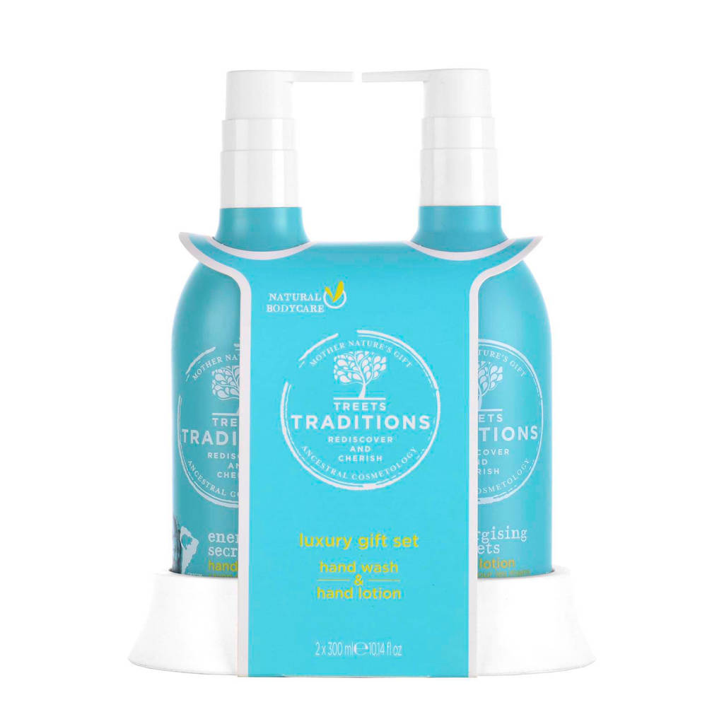 Treets Energising Secrets Luxury Hand Care Set