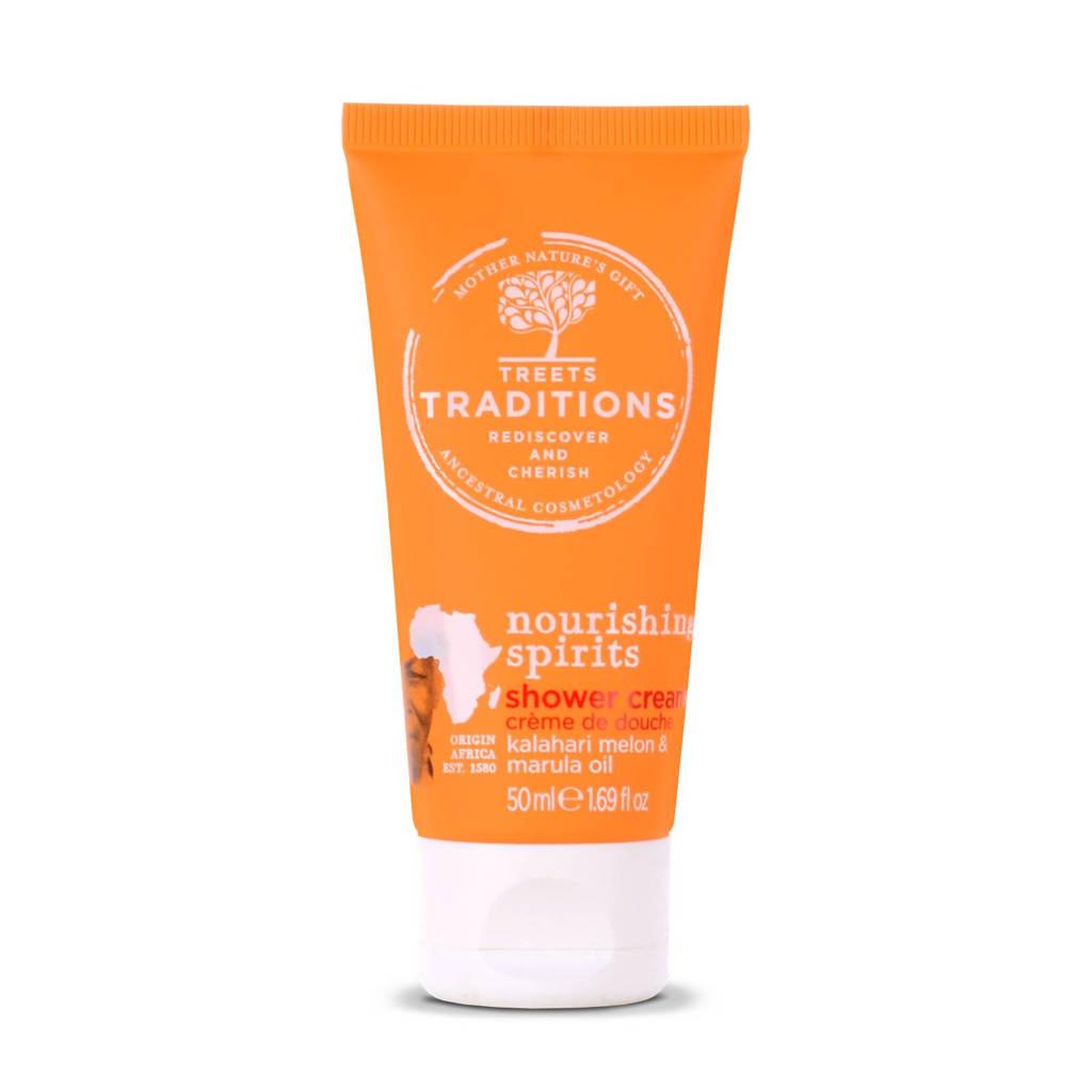 Treets Nourishing Spirits Mini Shower Cream 50ml