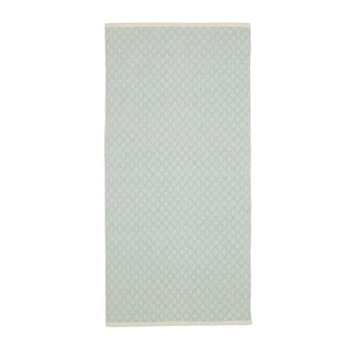 Kidsdepot vloerkleed Checky light green