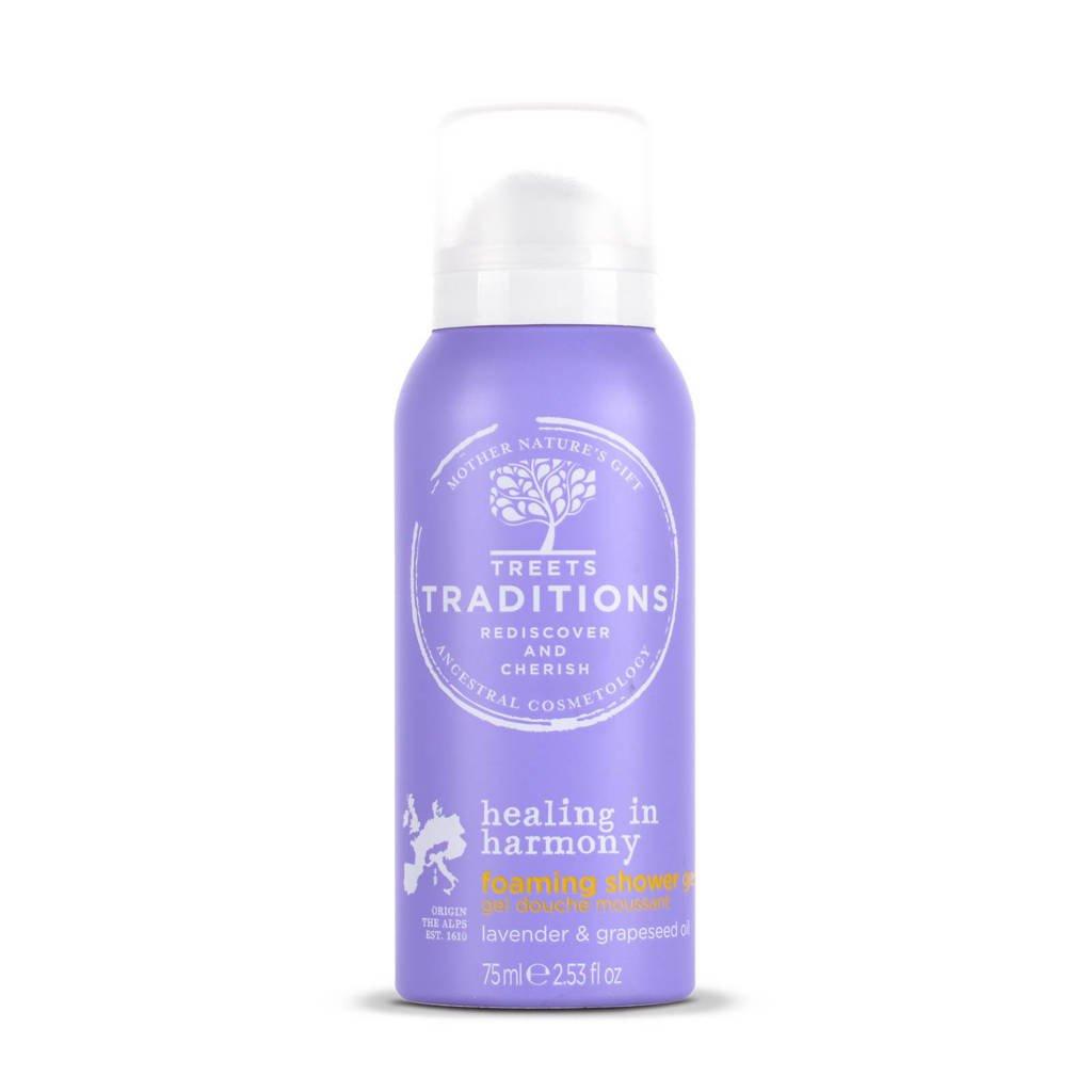 Treets Healing in Harmony Mini Foaming Shower Gel 75ml