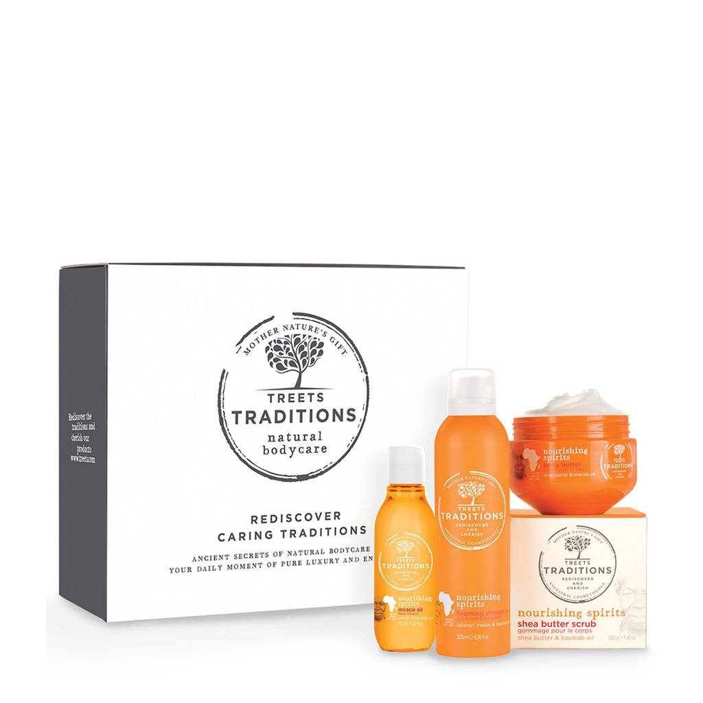 Treets Luxury Gift Set Nourishing Spirits