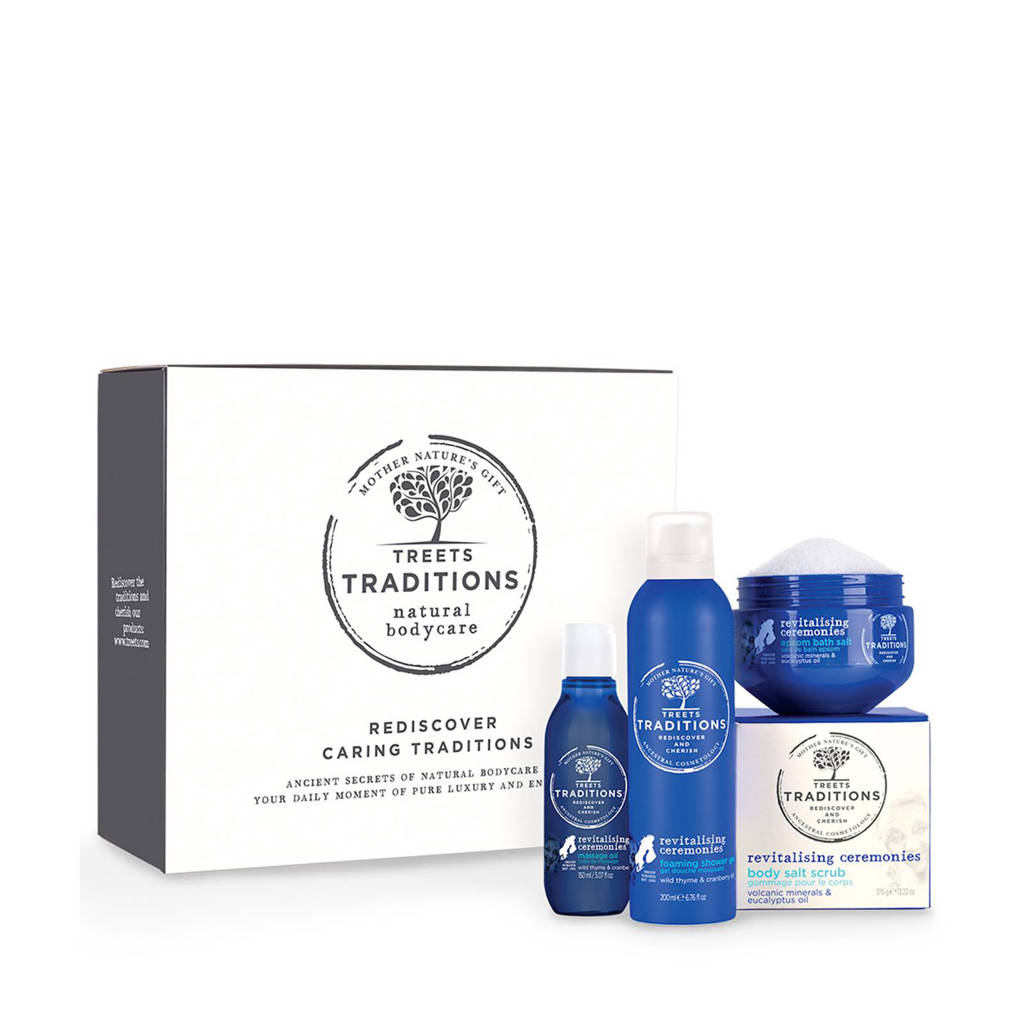 Treets Luxury Gift Set Revitalising Ceremonies