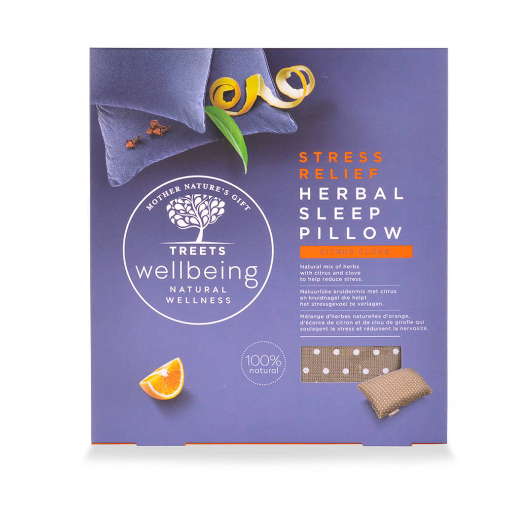 Treets  Herbal Sleep Pillow Stress Relief Aromatherapiekussentje