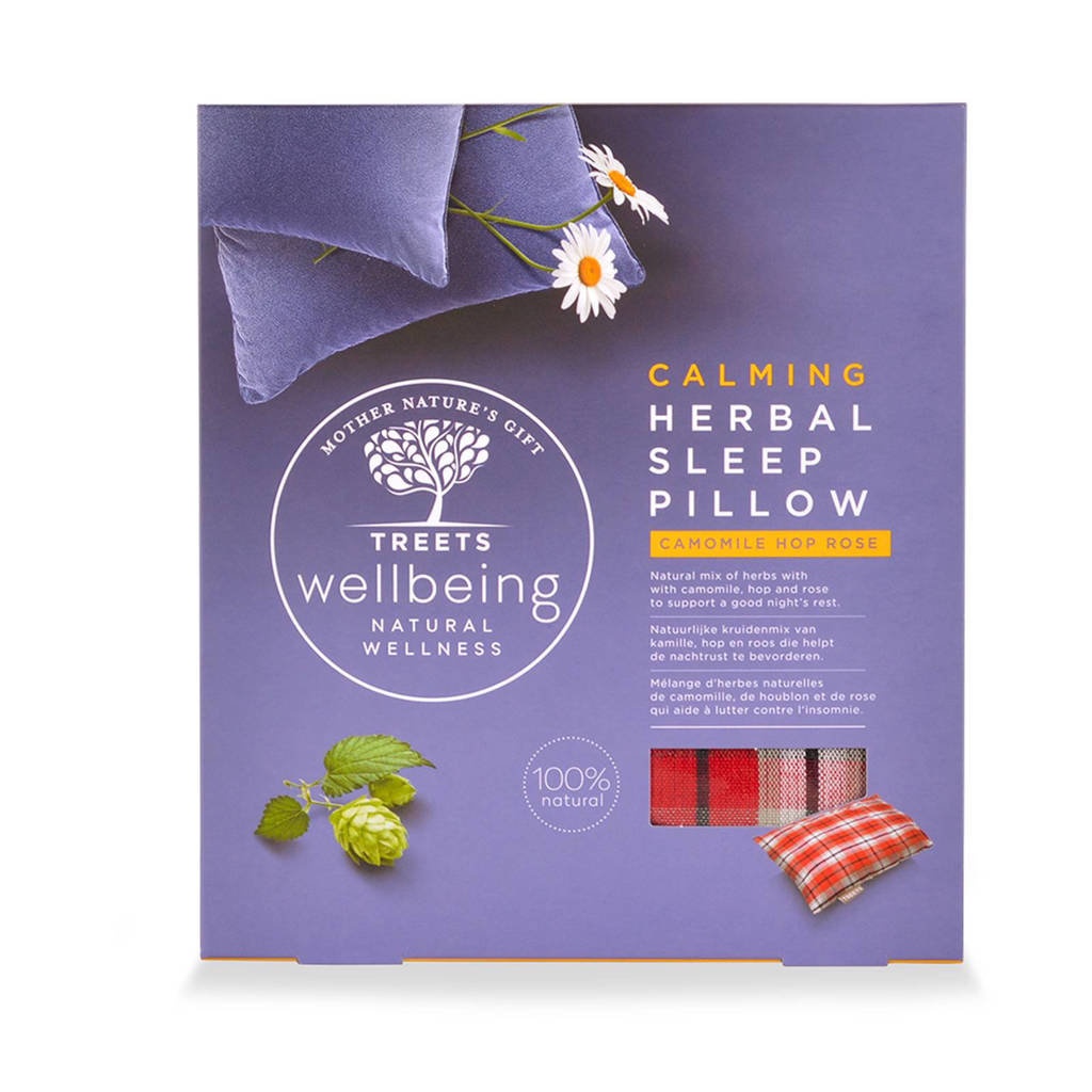 Treets  Herbal Sleep Pillow Calming Aromatherapiekussentje