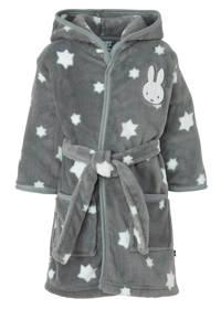 nijntje   badjas met sterren grijs, Donkergrijs