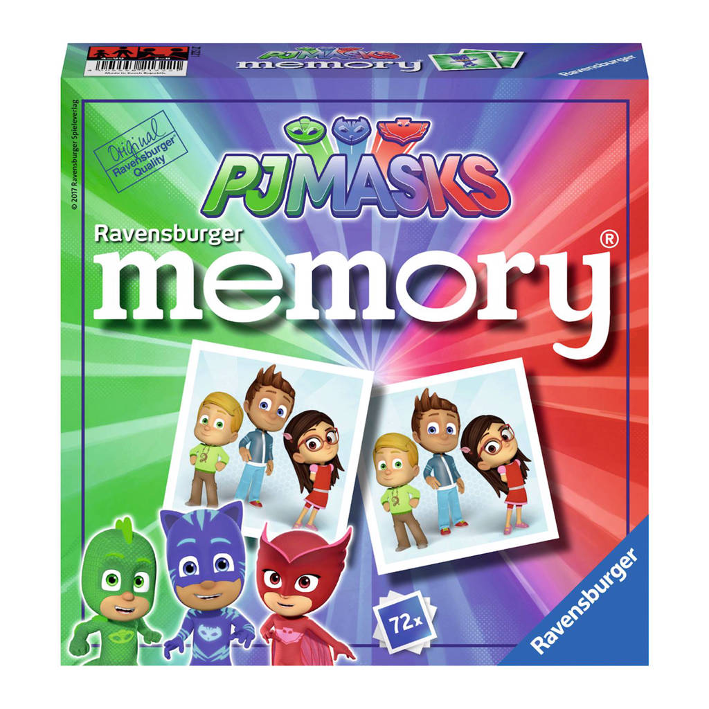 Ravensburger PJ Masks memory kinderspel