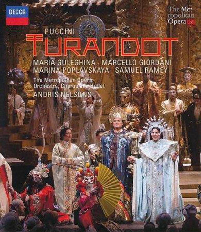 Guleghina/Giordani/Poplavskaya/Rame - Turandot (Blu-ray)