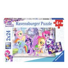 My Little Pony prachtige pony's twees  legpuzzel 24 stukjes