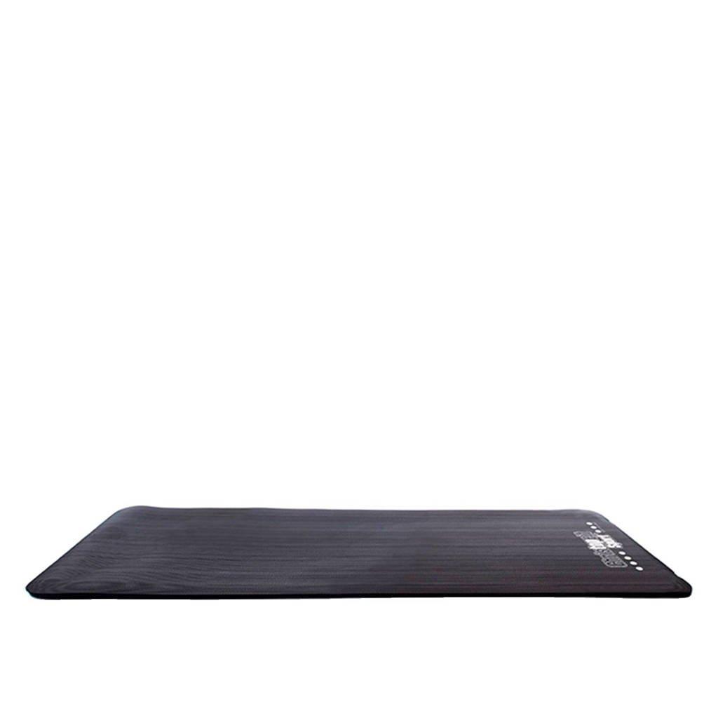 Christopeit NBR fitness mat, Zwart