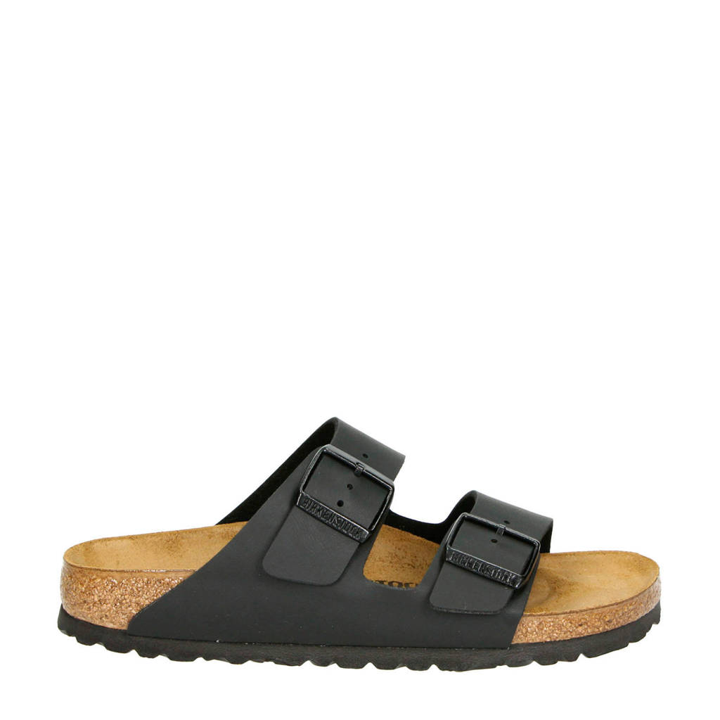 0d202e2957a Birkenstock slippers zwart   wehkamp