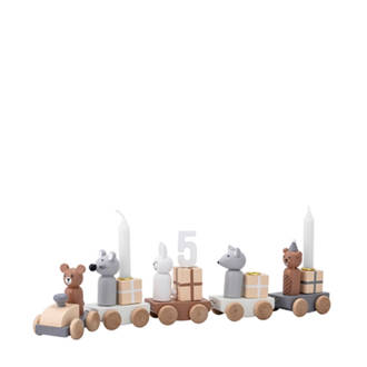 houten houten trein (5-delig)