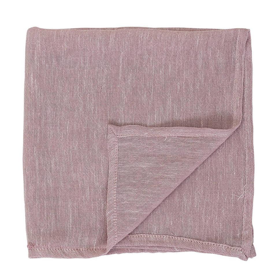 Bloomingville servet (45x45 cm), Roze