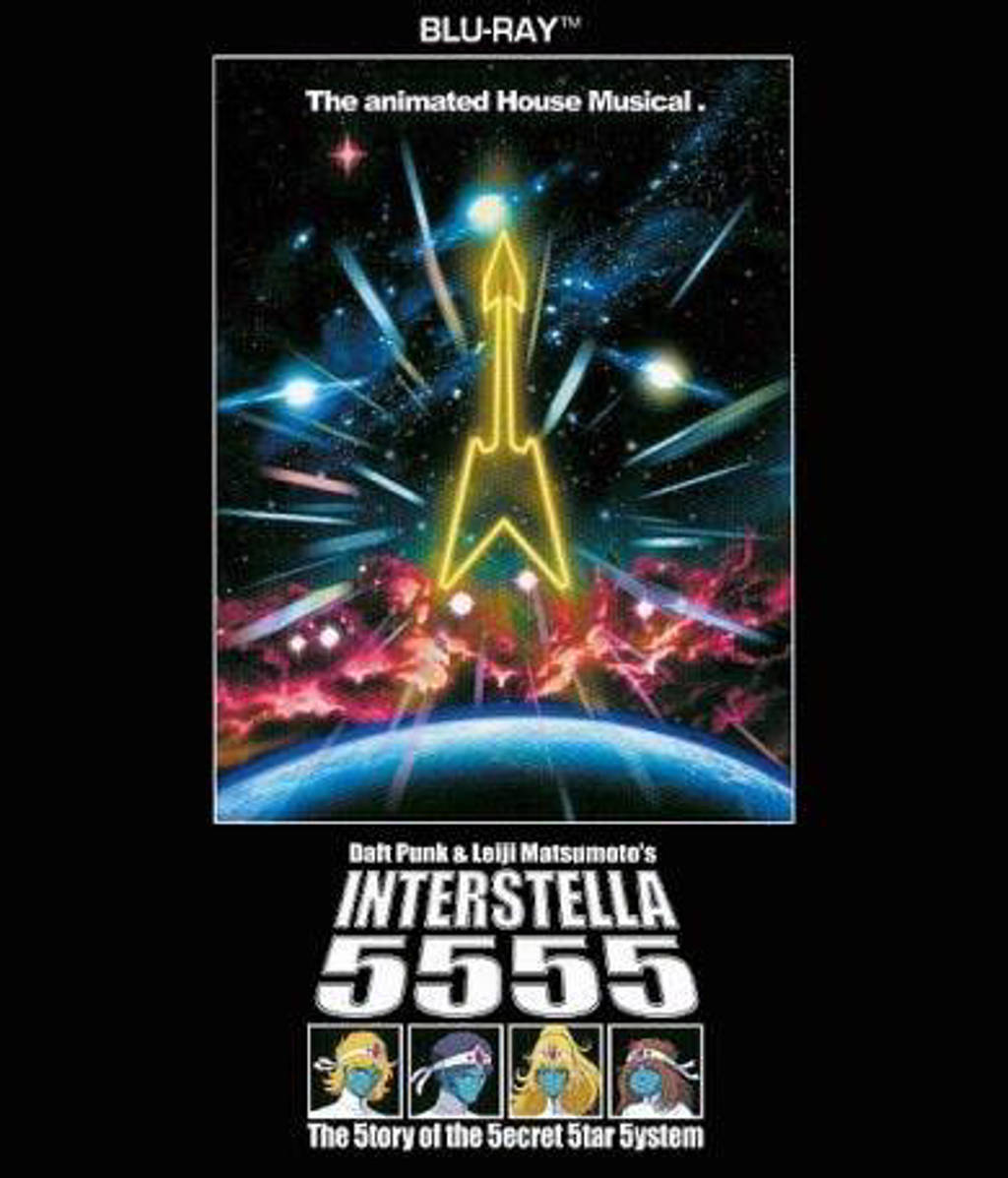 Daft Punk - Interstellar 5555 (Blu Ray) (Blu-ray)