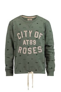 America Today Junior Sylvia sweater, Groen