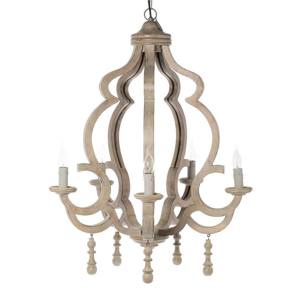 Riverdale hanglamp Riom, Naturel