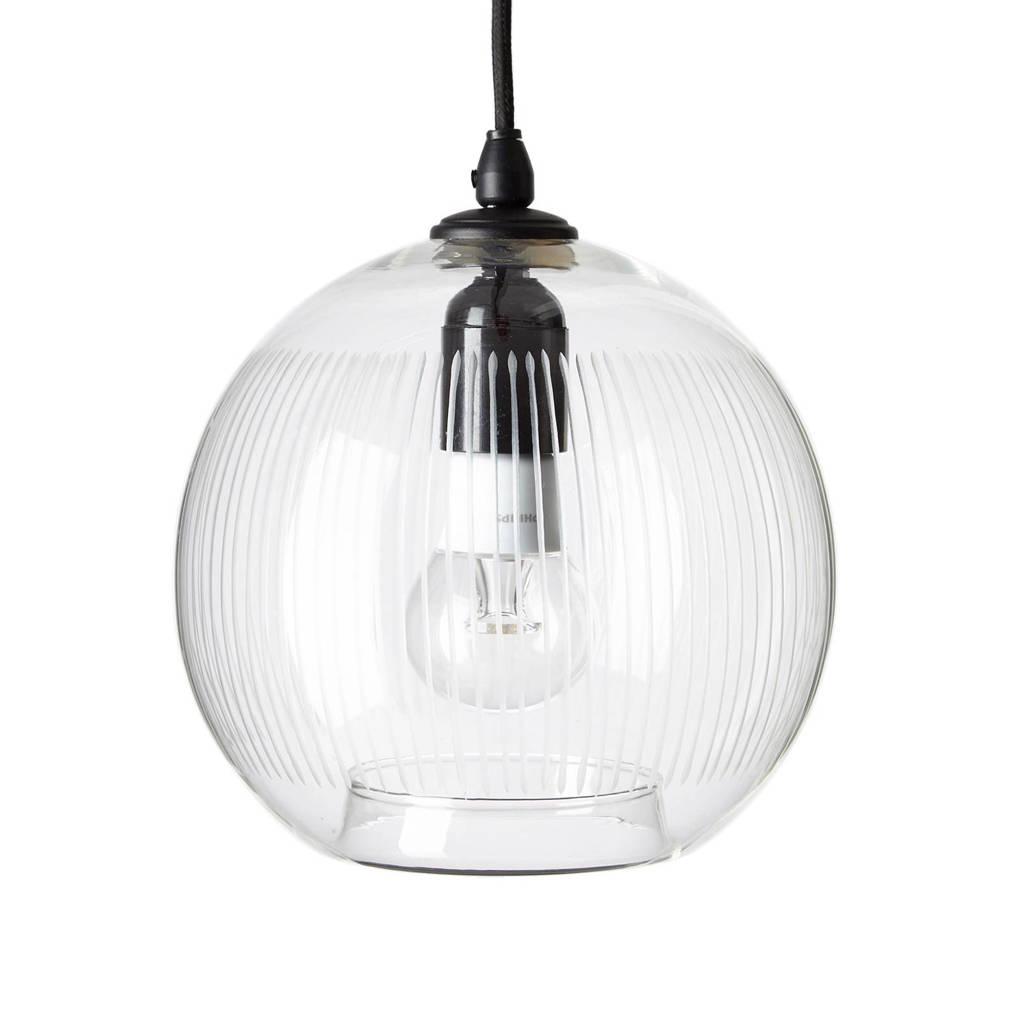 whkmp's own hanglamp, Transparant/zwart