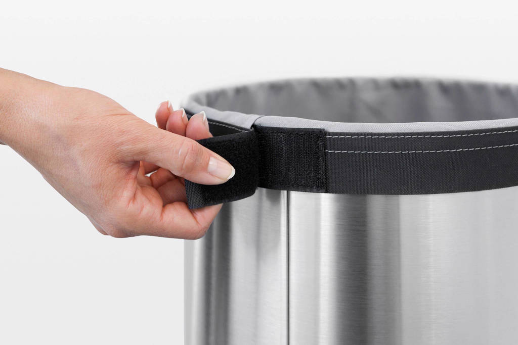 Brabantia Wasmand 30 Liter.Brabantia Wasbox 30 Liter Matt Steel Wehkamp