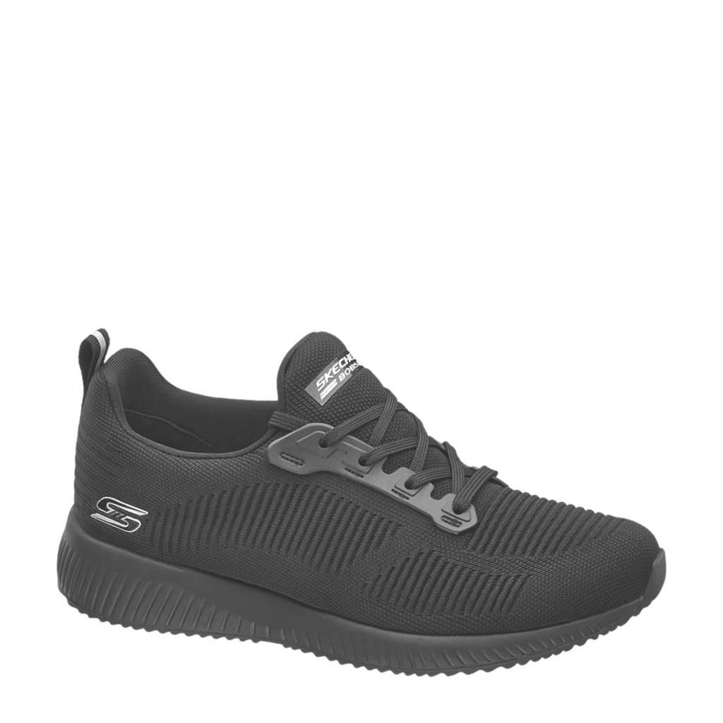 Skechers   lichtgewicht sneakers zwart, Zwart