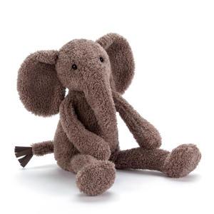 Slackajack olifant knuffel 33 cm
