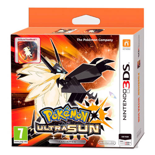 Pokémon Ultra Sun SteelBook Edition (Nintendo 3DS) kopen