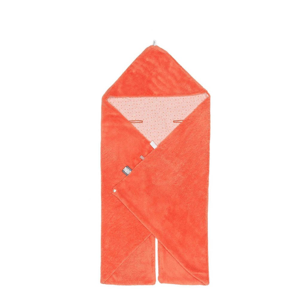 Snoozebaby Trendy Wrapping wikkeldeken sunset coral, Sunset Coral