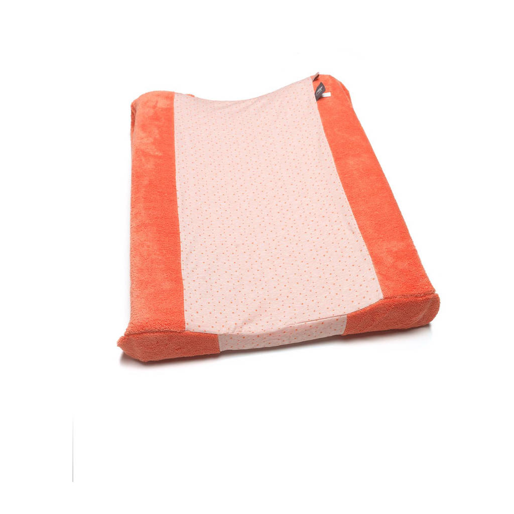 Snoozebaby Happy Dressing aankleedkussenhoes 45x75 cm sunset coral, Sunset Coral