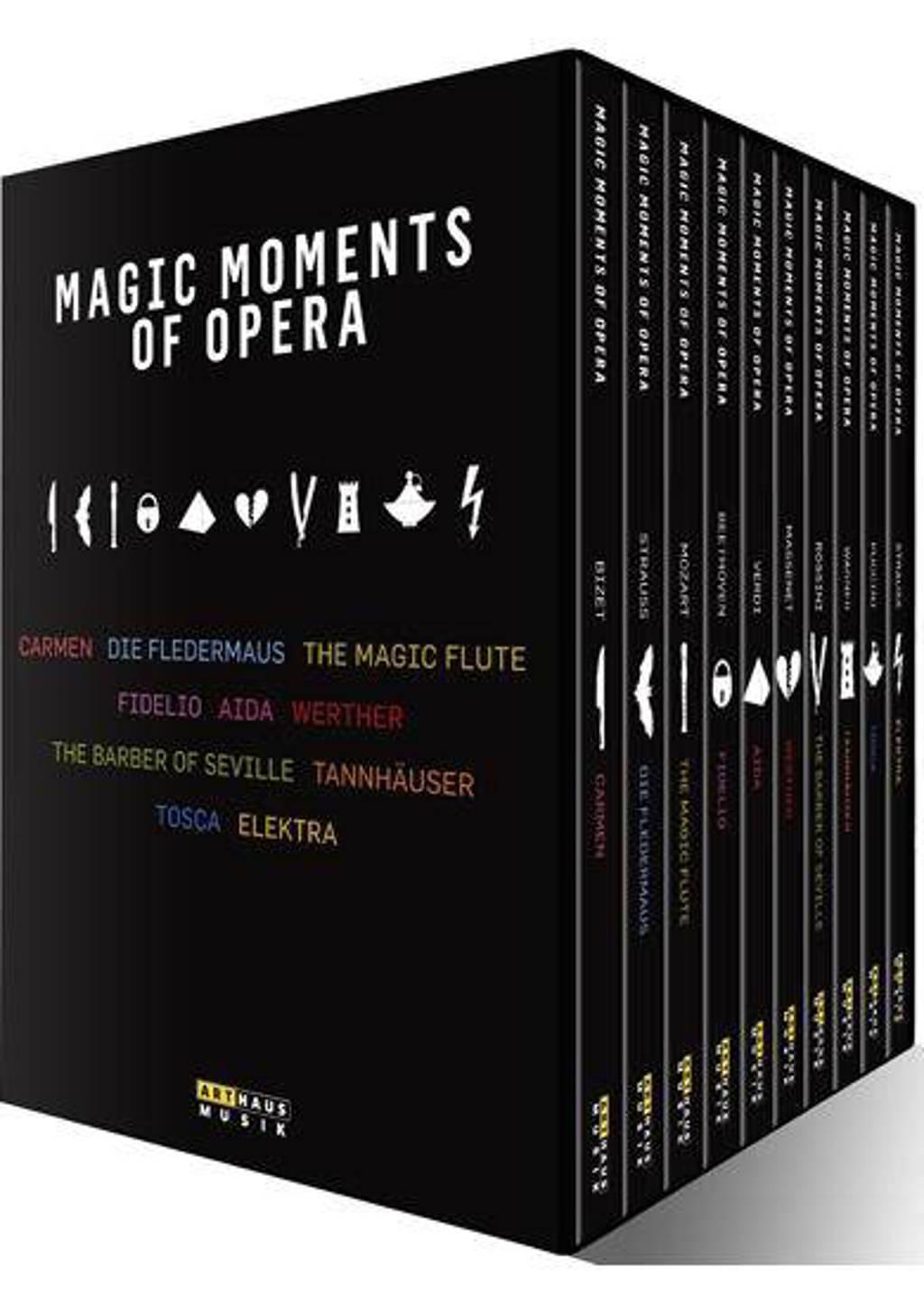 Aida,Carmen,Elektra,Tosca,Werther - Magic Moments Of Opera 11 Dvd S (DVD)