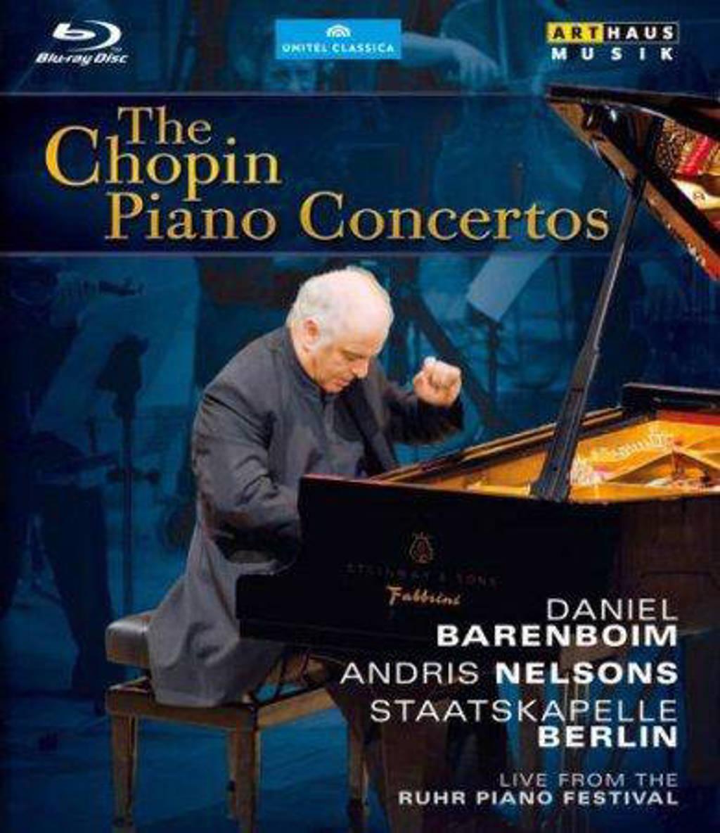Staatskapelle Berlin Barenboim - Chopin Piano Concertos,Essen 2010Br (Blu-ray)