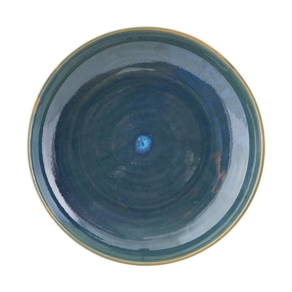 House Doctor ontbijtbord (Ø21,5 cm), Blauw