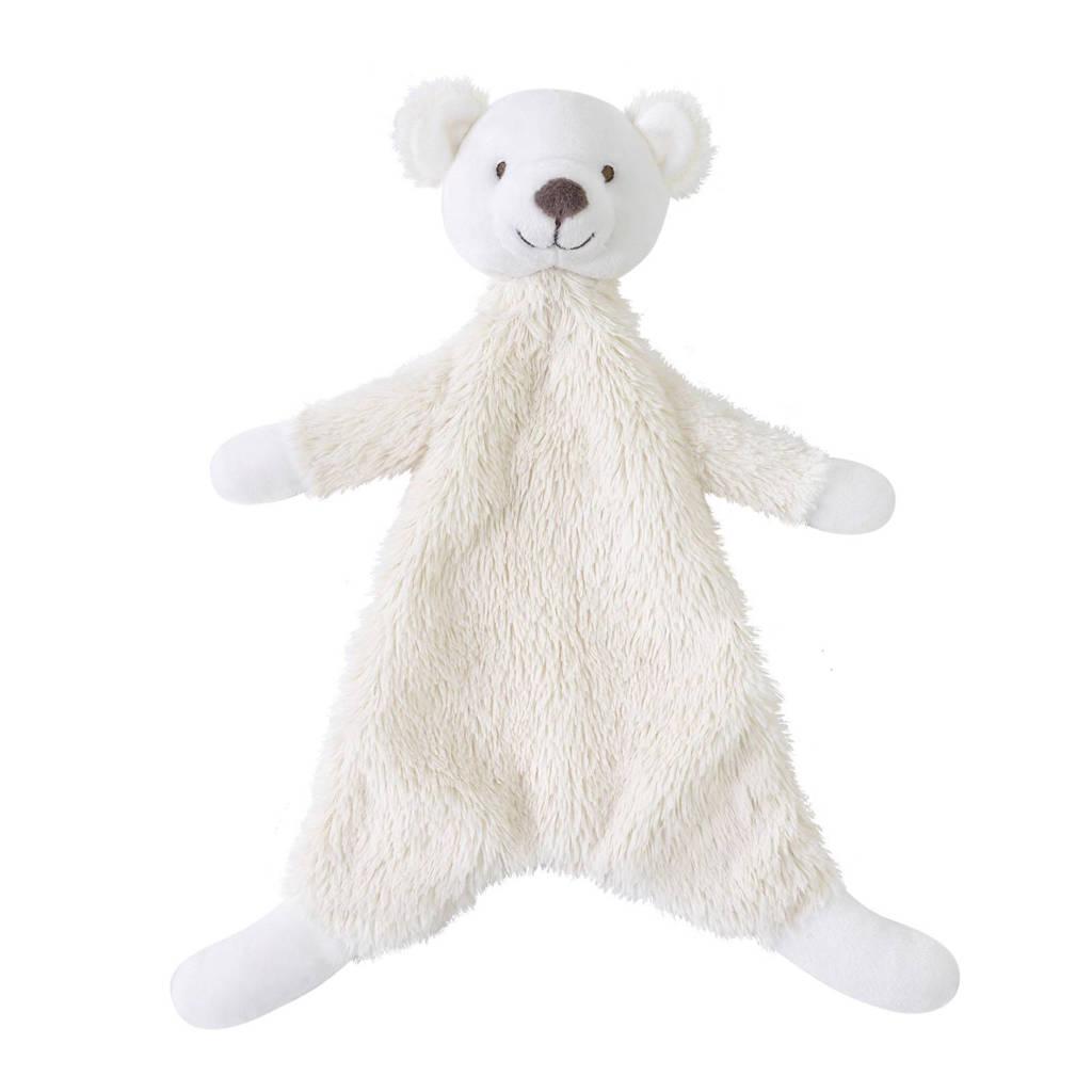 Happy Horse ijsbeer Ike knuffeldoekje, Ivory