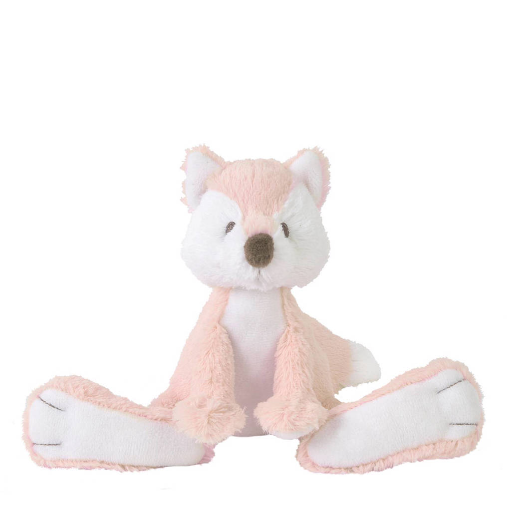 Happy Horse vos Foxy knuffel 32 cm, Roze