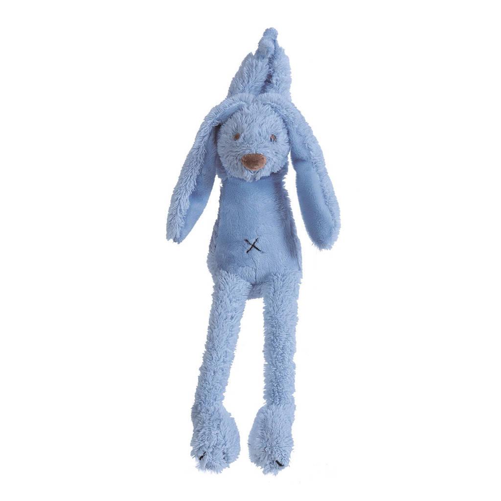 Happy Horse konijn Richie muziek knuffel 20 cm, Deep blue