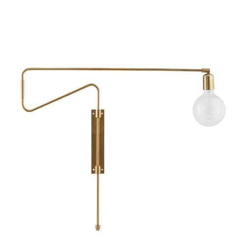 House Doctor Wandlamp Swing Brons 70 cm