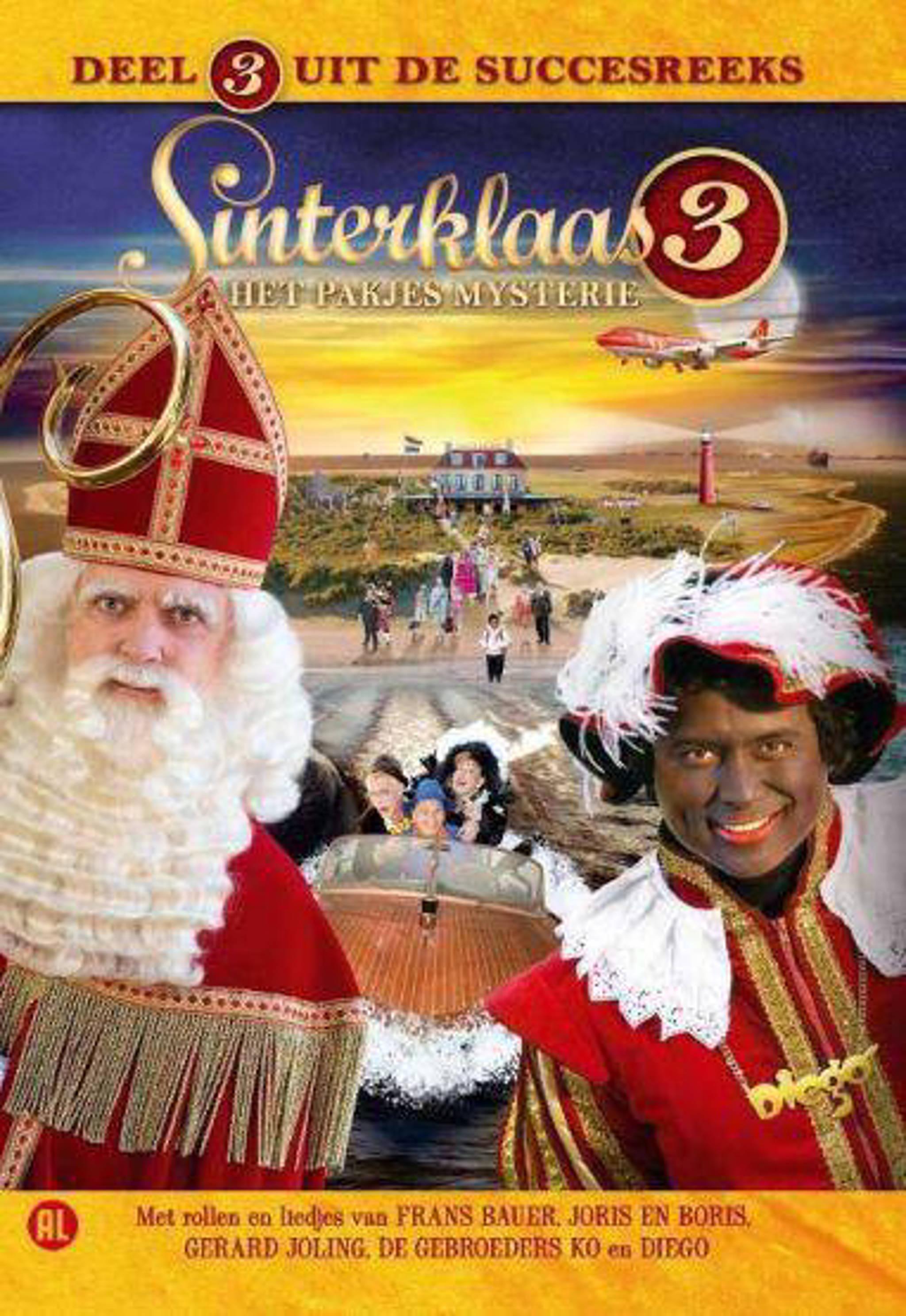Zitzak Gerard Joling.Sinterklaas 3 Het Pakjesmysterie Dvd Wehkamp